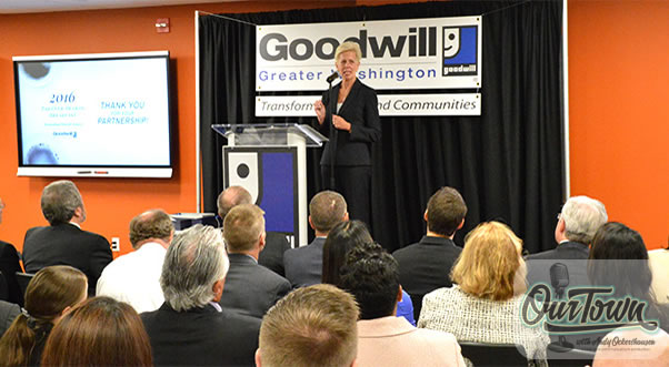 Catherine Meloy, CEO Goodwill of Greater Washington