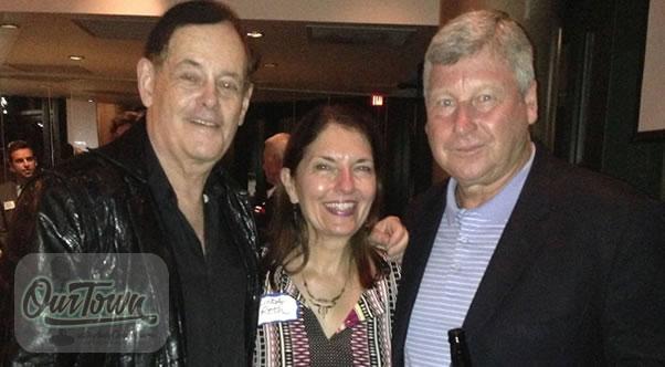 Tim Brant, Linda Roth and Michael O'Harro R-L