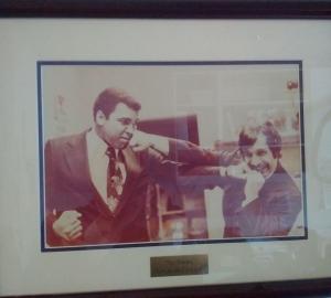 Muhammad Ali and Tommy Jacomo The Palm Restaurant Washington DC