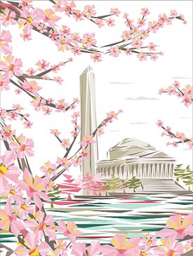 2017 National Cherry Blossom Festival Artist: 2017 Official Artist is Naturel, a DC native