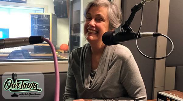 Kathi Bowers Wallis, Civic-Minded Entrepreneur Our Town in studio interview