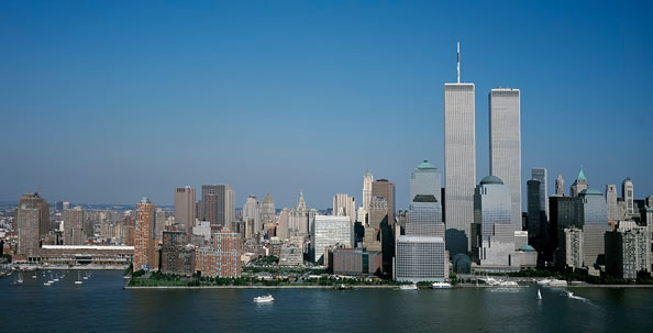 The World Trade Center One Month before 9/11