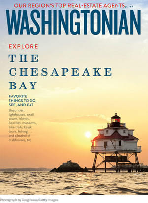 Washingtonian July 2016 Cover