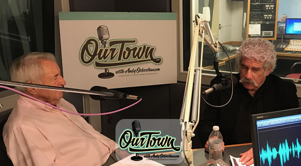 Elliot Denniberg and Andy Ockershausen in studio