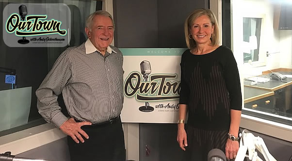 Doreen Gentzler - News4 and WRC-TV News Anchor and Award Winning Journalist and Andy Ockershausen in studio interview
