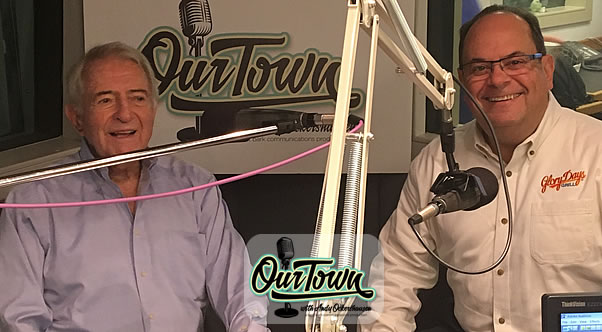 Gary Cohen, WRAP Chairman and Restaurateur in studio with host Andy Ockershausen