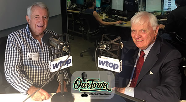 Dave McConnell, Capitol Hill Reporter for WTOP and host Andy Ockershausen in studio interview