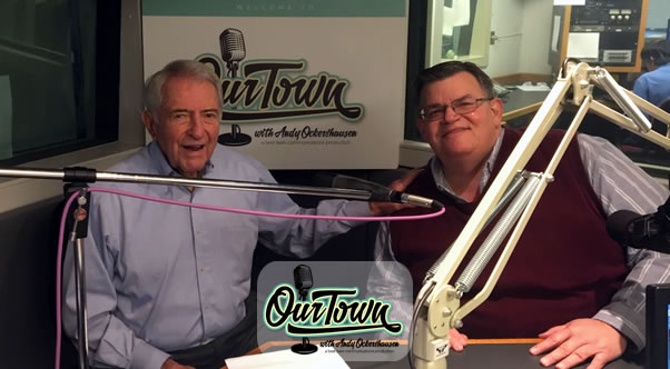 John Matthews, WMAL News Director, and host Andy Ockershausen