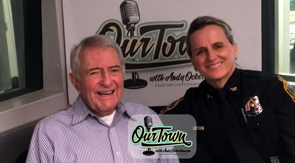 Mary Gavin - Chief of Police Falls Church Police Department with host Andy Ockershausen in-studio interview