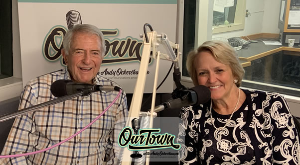 Deborah Marriott Harrison – Global Cultural Ambassador Emeritus Marriott International and Andy Ockershausen in-studio