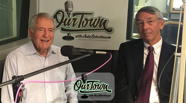 Stephen S. Fuller, Ph.D. and Our Town host Andy Ockershausen in-studio interview