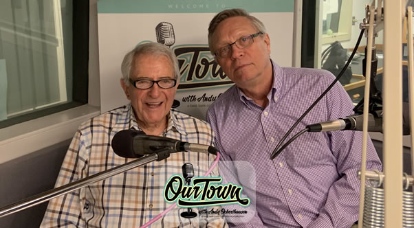 Tom Sherwood, Analyst, WAMU's Politics Hour and Former WRC TV Politics Reporter with host Andy Ockershausen in-studio interview