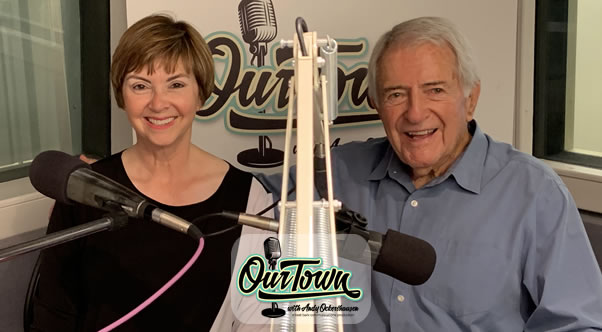 Lisa Baden, Traffic Reporter and Radio Personality, with Andy Ockershausen